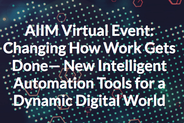aiim event intelligent automation tools for a digital world magiclamp software rpa